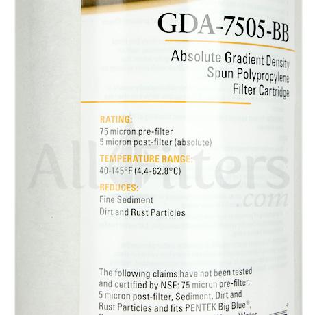 Pentek GDA-7505-BB