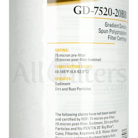 Pentek GD-7520-20BB