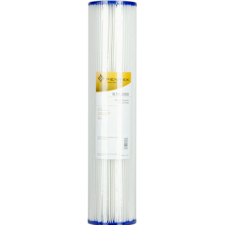 20 x 4-1//2 Pentek R30-20BB Pleated Polyester Water Filters Package Of 4 155430-43