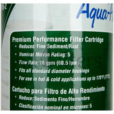 Aqua Pure Ap110 2 Filter Cartridge Replacement 17 99