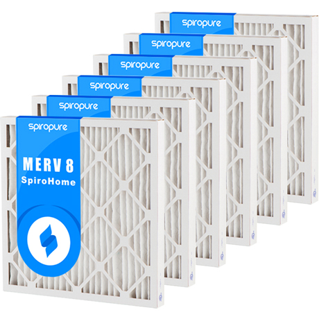 Merv 8 20x20x2 Air Filters 12 Pack On Sale Now