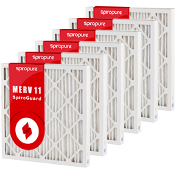 MERV 11 25x25x2
