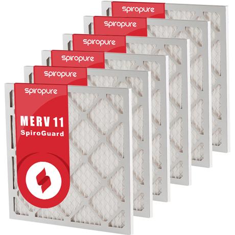 MERV 11 16x25x1