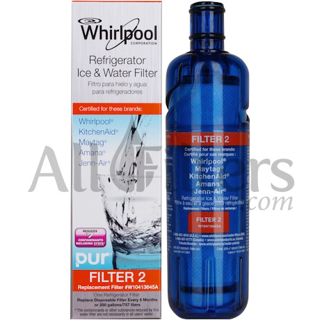Whirlpool Filter 2 W10413645A Refrigerator Filter - $28 95
