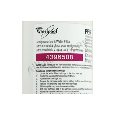 Whirlpool 4396508 Pur Refrigerator Filter Only 23 99