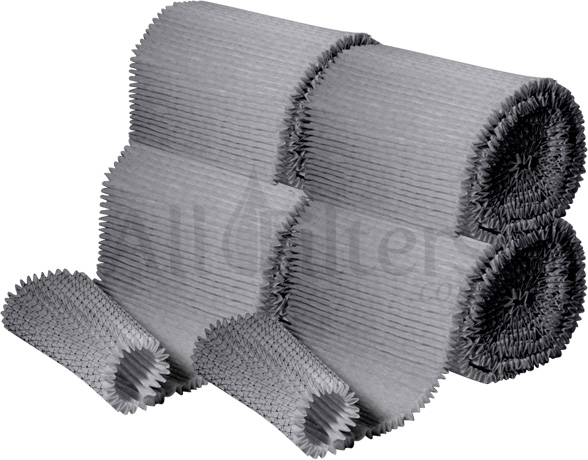 Carbon Pleated Rolls