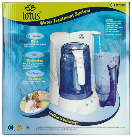 Tersano Lotus Lwt100 Water Treatment System Only 229