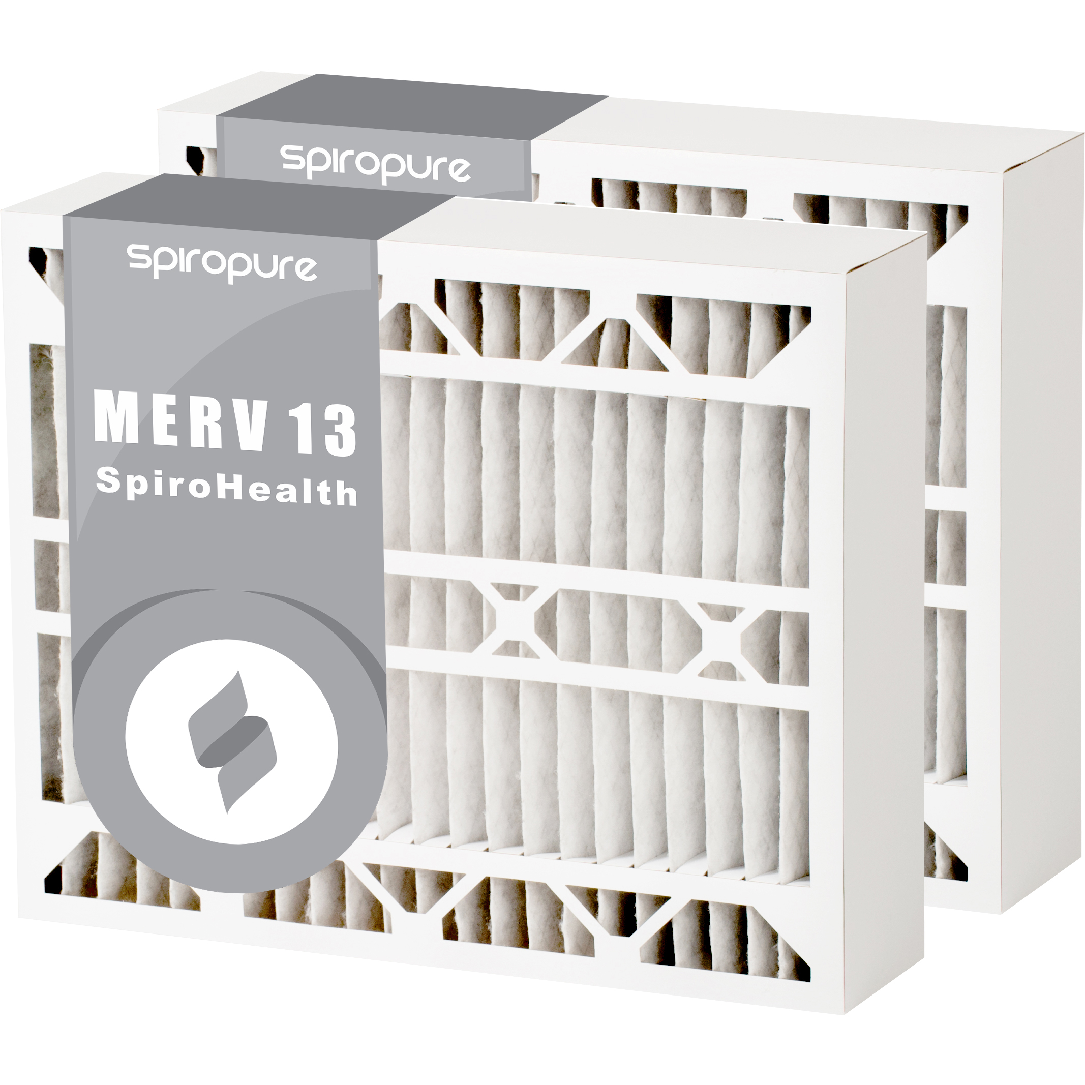 Filters Fast Compatible Replacement for Carrier MERV 13 CMF1620 2-Pack