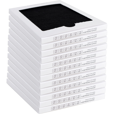 SpiroPure Frigidaire PAULTRA / Electrolux EAFCBF Compatible Refrigerator  Air Filter (12 Pack)