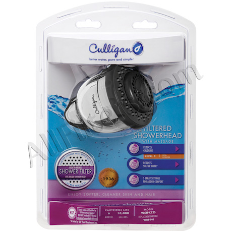 Culligan WallMount Filtered Showerhead ON SALE