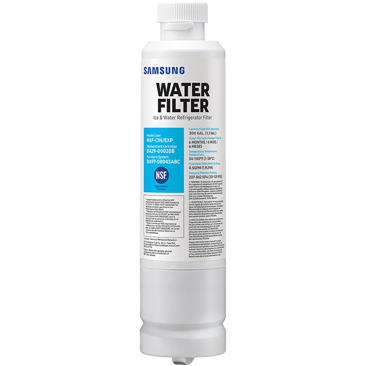 1-5Pack Genuine Samsung DA29-00020B HAF-CIN//EXP Refrigerator Water Filter