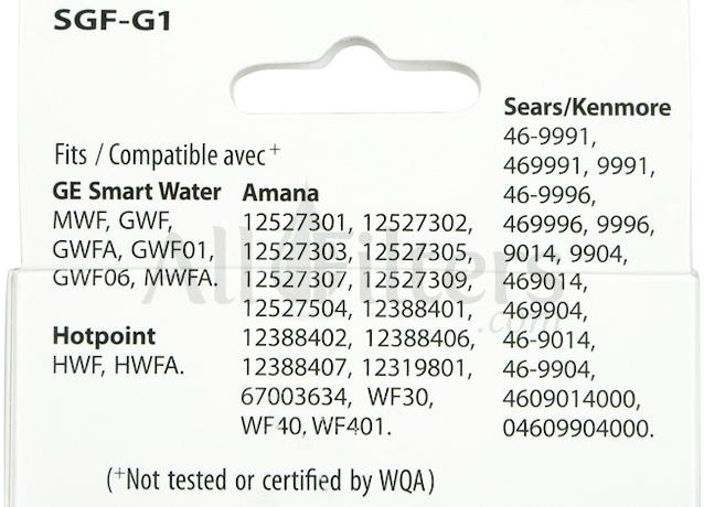 SGF-G9 MWF