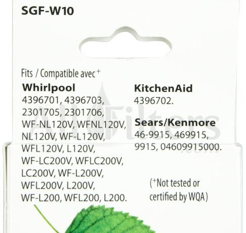 SGF-W10 4396701