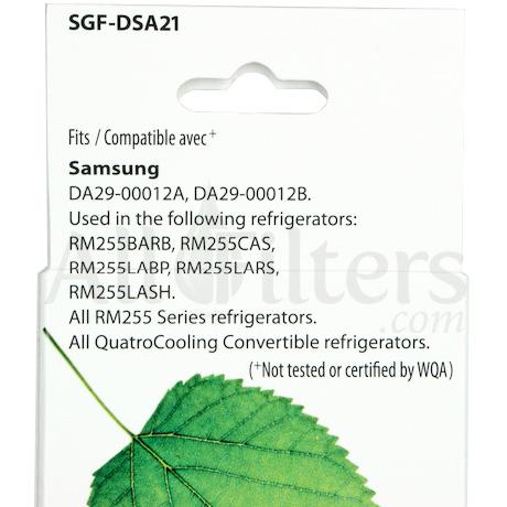 SGF-DSA21 DA29-00012A